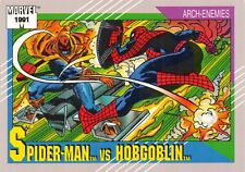 SPIDER-MAN VS. HOBGOBLIN / Marvel Universe Series 2 (Impel 1991) BASE Card #98