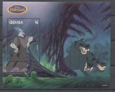 Walt Disney, Hercules, Hund, Dog - Grenada - 1 Bl. ** MNH
