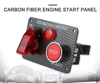RACING PANEL ENGINE START RED PUSH BUTTON IGNITION Ford FALCON BA BF FG FGX AU