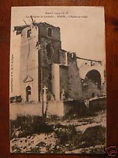 cpa 54 env luneville bures eglise en ruine guerre 1914