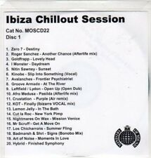 (CC785) Ibiza Chillout Session, 20 tracks various artists - DJ CD