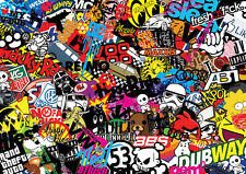 Vw stickerbomb sheet trade pack  ( A4 size x20 in pack) (Vw euro drift jdm rat)