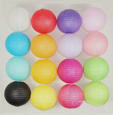 """6"""" 8"""" 12"""" 16"""" Chinese Paper Lanterns Wedding Home Party Decoration Assorted"""