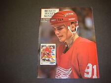 Beckett Hockey Monthly Magazine May 1991 Sergei Sedorov Mark Messier  M2191