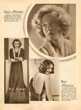 1937 Gwili Andre Olga Baclanova Irene Bordini