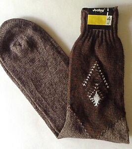 Deadstock 1950s Mens Socks Blue Knit Socks Vintage 50s Navy Blue Mens Socks New with Tags