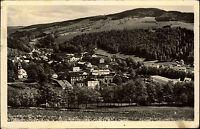 Maršov Krkonoše Riesengebirge s/w AK 1952 Gesamtansicht frankiert Briefmarke
