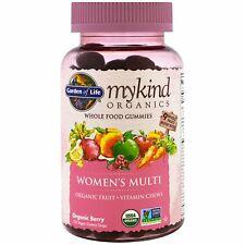 Organic Women's Multi Vitamin Garden of Life Mykind 120 Berry Gum Drops