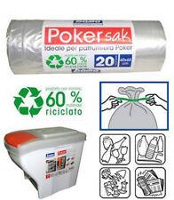 Confezione sacchetti per pattumiera poker sak bama raccolta differenziata 12 pz