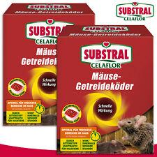 Substral Celaflor 2x 100 Outil Mäuse-getreideköder Alpha C Poison Combat Au Nid