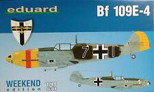 Eduard 1/48 Escala Messerschmitt Bf109e-4 Edición Weekend Edk84153