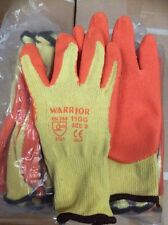 240 x Warrior Gloves (120 Pairs) Gardening Welding Safety Motorcycle Handling