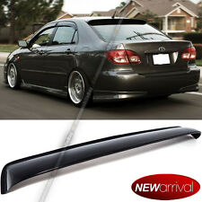 For 03-08 Toyota Corolla Acrylic Rear Roof Window Visor