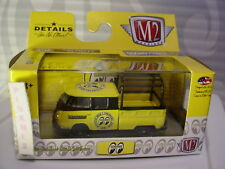 M2 Machines 1960 VW DOUBLE CAB TRUCK USA∞yellow∞MOONEYES JAPAN∞Walmart∞18-35