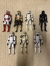 Star Wars 6? Black Series Troopers Loose Action Figure Lot