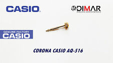 CASIO CORONA/ WATCH CROWN, PARA MODELOS. AQ-516, -GOLD TONE-