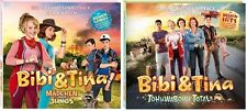 2 CDs * BIBI UND TINA FILMMUSIK/SOUNDTRACK ZUM KINOFILM 3+4 IM SET # NEU OVP KX
