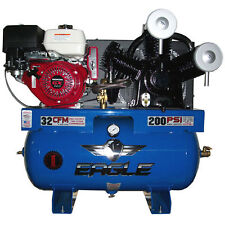 Eagle 13-HP 30-Gallon Two-Stage Truck Mount Air Compressor w/ Honda Engine