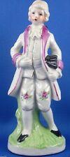 Vintage JAPAN Porcelain Colonial Man Figurine Ornament VG Collectable -Australia