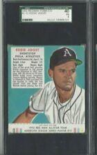 1952 Red Man Baseball Card AL12 Eddie Joost Philadelphia Athletics SGC 40 VG 3