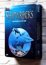 Shipwrecks: Graveyards of the Deep (DVD, 5-Disc set, Tin box+ Booklet), Like new