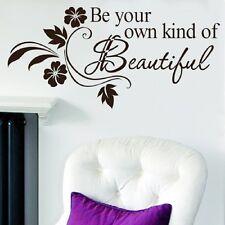 Beautiful DIY Art Wall Decal Decor Room Stickers Vinyl Home Mural Paper