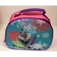 GIRLS LUNCH BAGS SCHOOL VARIOUS CHARACTERS FROZEN, MINNIE MOUSE + MORE!