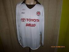 Fc st. Pauli doyou Football Amateur Manga larga camiseta matchworn 2005/06 + nº 8 talla XL