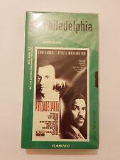 PHILADELPHIA pelicula VHS nueva y sellada de fabrica version para España