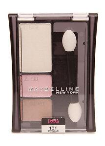 Expert Wear Gemey Maybelline Trio Shadow Blush Eyelids 101 Twinkle Pink