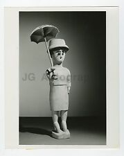 Historic Madagascar - Vintage 8x10 Publication Photograph - Wooden Figurine