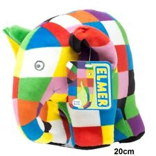 Elmer the Elephant Ring Rattle, Rattle, Comfort Blanket or Soft Toy