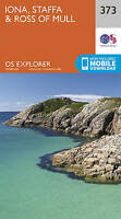 Iona, Staffa and Ross of Mull by Ordnance Survey (Sheet map, folded book, 2015)