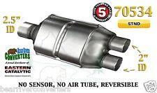"70534 Eastern Universal Catalytic Converter 2.5"" Single / 2"" Dual Pipe 12"" Body"