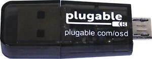Plugable USB MicroSD Card Reader for Phone, Laptop, & Tablet Computers
