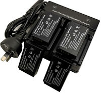 Dual Charger +4x Battery for En-El20 Enel 20a En-El 20 1 J1 1J2 J2 Nikon Mh-27