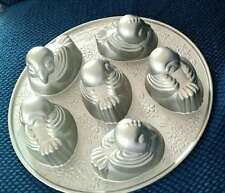 Nordic Ware Sweet Tweets Cakelet Pan NEW with Recipe Makes 6 3D Cakes