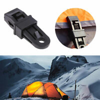 Camping Awning Fly Tarpaulin Tent Alligator Tarp Clips Crocodile Rope Clamps
