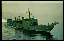 Uss Fairfax County Lst-1193 postcard Us Navy Tank Landing Ship (cd1)