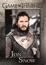 JON SNOW (Kit Harington) / Game of Thrones Season 8 (2020) BASE Trading Card #20