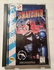 SEGA CD 1994 Konami SNATCHER COMPLETE in Original Box
