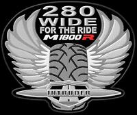 Suzuki Intruder M1800R 280 Wide XL Parche bordado Thermo-Adhesiv iron-on patch