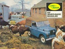 LAND ROVER SERIES-IIA '88' & '109' RETRO POSTER BROCHURE CLASSIC ADVERT A3 !!!!