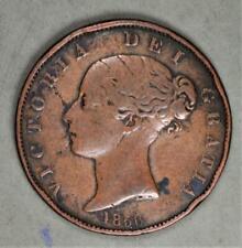 Great Britain 1856 Half Penny