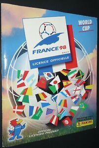 ALBUM PANINI FOOTBALL FIFA WORLD CUP FRANCE 98 COUPE MONDE 1998