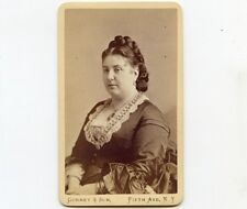 1870s Gurney CDV Photo of Opera Singer, E. Parepa-Rosa, NY City