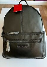 """Valentino Mario Valentino """"Steady Nero"""" VBS36O01. Leather Backpack Plus Dust Bag"""