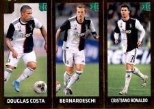 Panini Fifa 365 2020 Sticker 248 - Douglas Costa Bernardeschi Cristiano Ronaldo