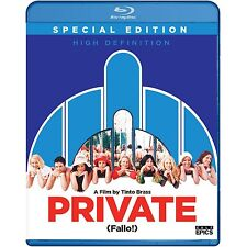 Private FALLO Tinto Brass SPECIAL EDITION BLU RAY NEW SEALED NR HIGH DEFINITION