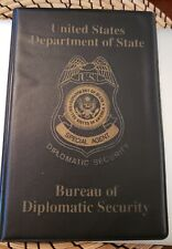 DEPARTMENT OF STATE, DIPLOMATIC SECURITY SERVICE, SPECIAL AGENT NOTE PAD, NEW
